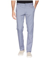 Brixton Reserved Standard Fit Chino Pants Grey Blue Casual Pants Multi