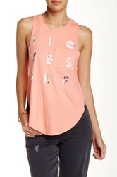 Roxy I Love Surf Muscle Tank Pink