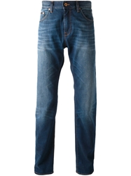 Boss Hugo Boss Straight Leg Jeans Blue
