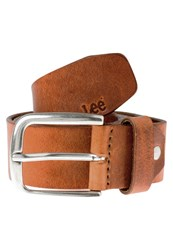 Lee Belt Dark Cognac