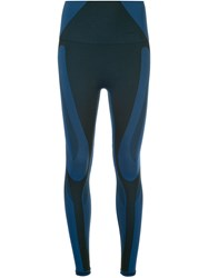 Lndr Colour Block Leggings Blue