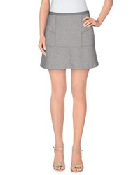 Tommy Hilfiger Denim Skirts Mini Skirts Women Light Grey
