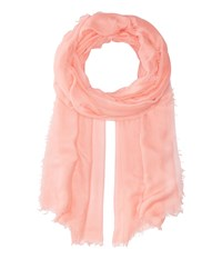 Collection Xiix Solid Soft Wrap Scarf Coral Scarves