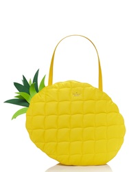 Kate Spade Wing It Pineapple Tote Goldenrod