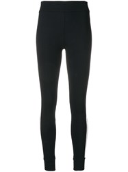 No Ka' Oi Tape Side Leggings Black