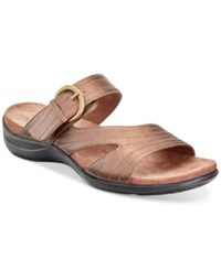 Easy Street Shoes Flicker Sandals Women's Bronze