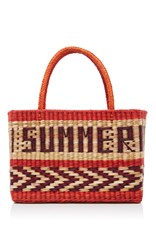 Nannacay Goa Summer Tote Red