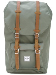 Herschel Supply Co. 'Little America' Backpack Unisex Polyester Polyurethane One Size Green