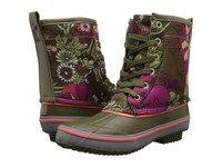 The Sak Duet Olive Flower Power Women's Pull On Boots Brown