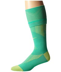Nike Elite Running Graduated Menta Key Lime Key Lime Knee High Socks Shoes Green