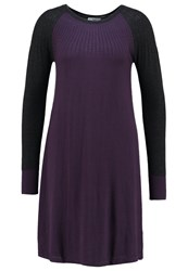 Noa Noa Jumper Dress Mysterioso Purple