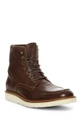 Andrew Marc New York Ashford Moc Toe Boot Beige