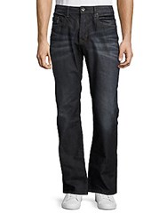 Buffalo David Bitton King X Cotton Blend Whiskered Jeans Indigo