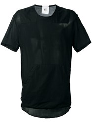 Lost And Found Rooms Pouch Pocket T Shirt Black