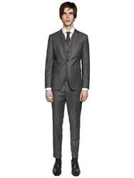 Dsquared London Wool Gabardine 3 Piece Suit