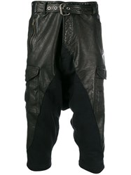 Greg Lauren Cropped Biker Trousers 60