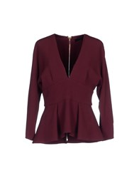 Elie Saab Blouses Deep Purple