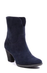 Blondo Women's 'Fay' Waterproof Ankle Boot Navy Suede