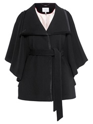 Coast Copenhagen Wool Cape Coat Black
