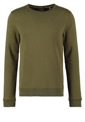 Scotch And Soda Sweatshirt Military Oliv