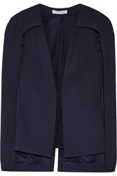 Alexis Lenore Wool Cape Blue