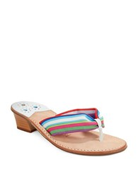 Jack Rogers Hi Redle Sandals Multi Colored