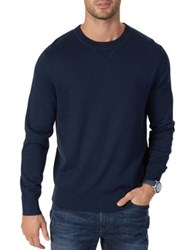 Nautica Classic Fit Crewneck Sweater True Navy