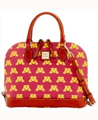 Dooney And Bourke Minnesota Golden Gophers Zip Zip Satchel