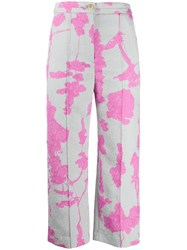 Chalayan Floral Wide Leg Trousers 60
