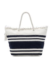 Seafolly Carried Away Riviera Tote White
