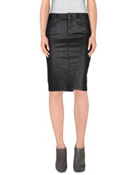 Richmond Denim Denim Denim Skirts Women Black