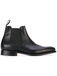Church's Houston Boots Men Calf Leather Leather 8.5 Black