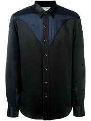 Saint Laurent Western Shirt Black