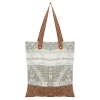 East Geo Print Canvas Bag Multi