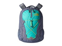 The North Face Women's Jester Folkstone Gray Wild Lime Backpack Bags