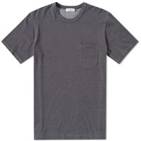 Nanamica French Terry Pocket Tee Grey