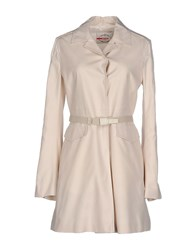 Prada Sport Coats And Jackets Full Length Jackets Women Beige