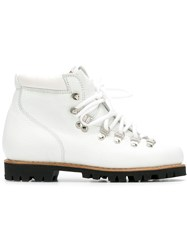 Paraboot Avoriaz Hiking Boots White