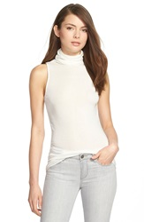 Chelsea 28 Turtleneck Layering Tank White Snow