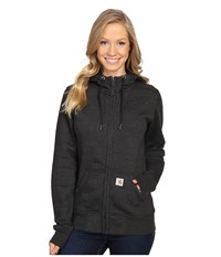 Carhartt Sandpoint Zip Front Sweatshirt Black Heather Women's Sweatshirt