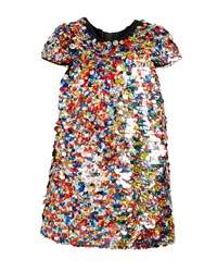 Milly Minis Chloe Multicolor Sequin Dress