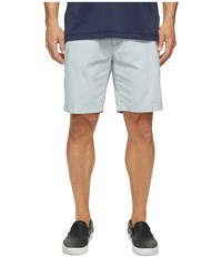 Nautica Anchor Twill Flat Front Shorts True Quarry Men's Shorts Blue