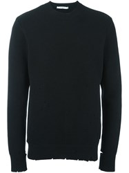 Givenchy Distressed Jumper Black