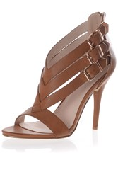 Alice And You Strappy Heeled Sandals Tan