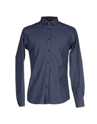 Bill Tornade Billtornade Shirts Shirts Men Slate Blue