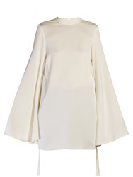 Ellery Purify Flared Sleeve Blouse Ivory