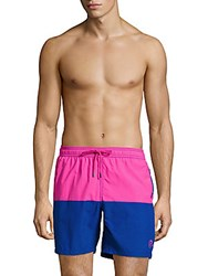 Mr. Swim Colorblock Drawstring Shorts Turquoise