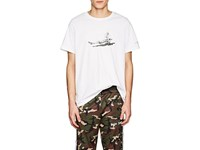 Ovadia And Sons Graphic Cotton Jersey T Shirt White