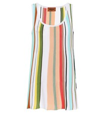 5f6565bc7103f Missoni Striped Cotton Tank Top Multicoloured