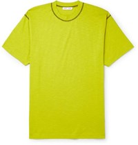 Cmmn Swdn Ridley Cotton Jersey T Shirt Yellow